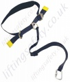 LiftingSafety Work Positioning Belt c/w Adjustable Lanyard with Karabiner - Lanyard 1.4 Metre