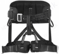 "Miller ""RAM"" Black Sit Harness for Rescue, Maintenance and Mountaineering (Full Body Harness if Used with ITC Chest Harness)"