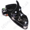 "Miller ""ProALLP"" Black Manual Technical Descender To Suit Kernmantle Rope - Diameter 10 to 13mm"