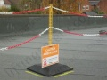 Demarcation Barrier System for Marking Out a Safe Working Zone