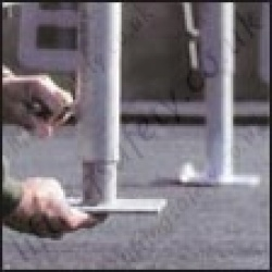 Edge-Guard Temporary Free Standing Guard Rail