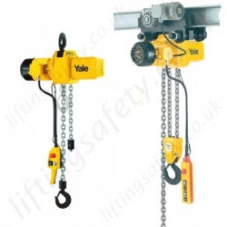 Yale CPE Electric Chain Hoist, 400v 3Ph 50hz - Range from 1600kg to 10,000kg
