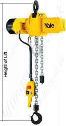Yale Electric Chain Hoist Cpe Hol