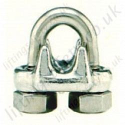 Crosby SS450 Forged Wire Rope Clips, Bulldog Grips - Rope