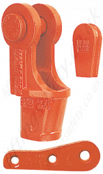 Crosby Utility US422T Wedge Sockets - Range Available for 10mm to 32mm Rope Sizes