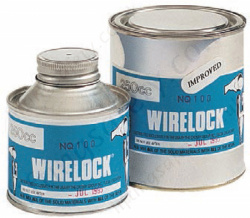 Crosby W4167 Wirelock Swaging Compound - Range from 100cc to 2000cc