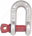 "Crosby G210 Screw Pin Chain Lifting ""D"" Shackles (Dee Shackles) - Range from 330kg to 55000kg"