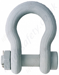 Crosby G2130CT & G2140CT Cold-Tuff Anchor Bow Lifting Shackle with Nut & Split Pin - Range from 4750kg to 250 tonne