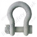 Crosby G-2130CT / G-2140CT Cold-Tuff Anchor Bow Lifting Shackle with Nut & Split Pin - Range from 4750kg to 250 tonne