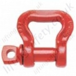 Crosby S281 Web Sling Saver Shackle - Range from 2950kg to 7700kg