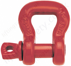 Crosby S253 Screw Pin Sling Shackle - Range from 3250kg to 50,000kg
