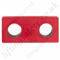 Crosby S256 Link Plate - Range from 3250kg to 50000kg