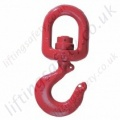 Crosby S3322 Swivel Hook with Bearing and Optional Safety Catch - Range from 2000kg - 15,000kg