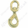 Crosby S326A Shur-Loc Self Locking Swivel Hook -  Range from 1120kg to 15,000kg