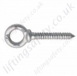 Crosby G275 Screw Eye Bolts