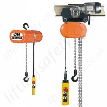 Yale CM Lodestar Electric Chain Hoist, 1Ph or 3Ph - Range from 250kg  Ton Cm Lodestar Hoist Wiring Diagram on