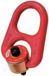 Crosby HR1000M & HR1000 Heavy Duty Swivel Hoist Ring, Metric & Imperial Thread - Range from 400kg - 13,750kg