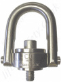 Crosby SS125M & SS125  Stainless Steel Swivel Hoist Ring, Metric & Imperial Thread - Range from 200kg - 22,300kg