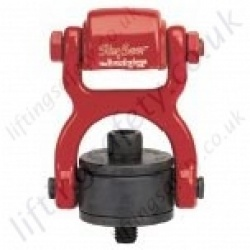 "Crosby ""HR125W"" Swivel Hoist Ring, Rotating Lifting Eyebolt for Attachment to Synthetic Slings Web. Imperial UNC Thread - Range from 2800kg - 13,000kg"