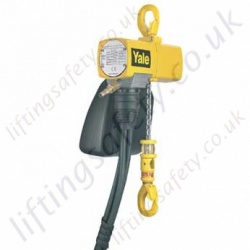 "Yale ""CPA"" Compressed Air Hoist with Pendant Control - Range from 125kg to 10,000kg"
