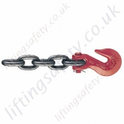 Crosby C-187 Transport Boomer Chains - Chain Diameter 6mm to13mm, WLL 1430kg to 5130kg