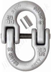 Crosby A1337 LOK-A-LOY Alloy Connecting Link - Range from 2000kg to 41000kg