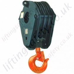 Crosby McKissick 380 Series Crane / Hook Blocks, Options 1 - 8 Sheave - Range from 5000kg to 300,000kg