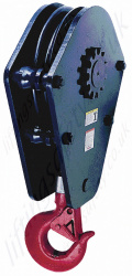 Crosby McKissick 381SY Scrap Handling Crane Pulley Sheave Blocks. Single Sheave Only - Range from 15,000kg to 40,000kg