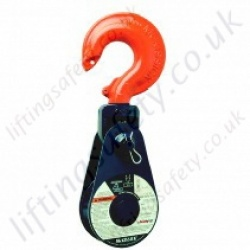 "Crosby McKissick ""418"" (419 & 404) Light Champion Pulley Snatch Blocks. Hook, Shackle or Tail Board Options - Range from 2000kg to 15,000kg"