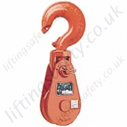 Crosby McKissick All Alloy Pulley Sheave Snatch Blocks. Hook Shackle or Tail Board Options - 12,000kg