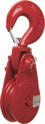 Crosby L170 Lebus Pulley Sheave Snatch Blocks. Hook, Shackle or Tail Board Options - 4500kg
