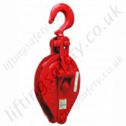 "Crosby ""C700"" Std. Pulley Sheave Snatch Blocks with Hook - 2000kg or 3000kg"