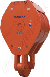 Crosby McKissick RP High Capacity Oilfield Drilling Blocks - Range from 50,000kg to 1,000,000kg
