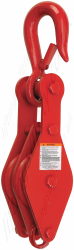 Crosby HS261, HS262 HS263 Loose Side Hook Pulley Sheave Block. Options with 1, 2 or 3 Sheave - Range from 410kg to 2180kg
