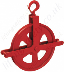 Crosby 350B, 350C & 350R Gin Wheel Pulley Sheave Blocks - 450kg
