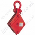 Crosby T-641B T642B Regular Wire Rope Sheave Pulley Block with Shackle or Hook - Range from 910kg to 6350kg