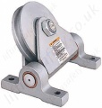 Crosby 602S Western Flag Sheave Pulley Blocks. Option painted or Galvanised - Range from 1810kg to 4540kg