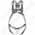Miller R1 Revolution 2 Point Basic Fall Arrest Harness with Rear 'D' Ring & Front Webbing Loops