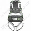 "Miller R3 Revolution 2 Point Premium ""Construction"" Fall Arrest Harness with Rear 'D' Ring& Front Webbing Loops and Work Positioning Belt"