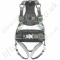"Miller R4 Revolution 2 Point Basic ""Standard Telecoms"" Fall Arrest Harness with Rear 'D' Ring & Front Webbing Loops and Work Positioning Belt"