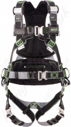"Miller R5 ""Telecom & Utilities"" Premium Revolution DualTech 3 Point Fall Arrest Harness & Work Positioning Belt"