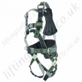 "Miller R5 Revolution 4 Point ""Premium Telecoms"" Fall Arrest Harness with Rear 'D' Ring & Front Webbing Loops and Work Positioning Belt"