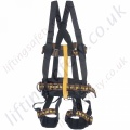 "Miller ""IBEX2"" Rope Access Safety Harness with Front and Rear 'D' Rings & Work Positioning Belt"
