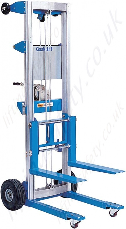 Material Lift Safety : Genie lift type gl materials lifter working heights from