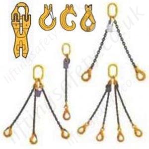 Lifting Chain Sling Assemblies Grade 8 80 Chain