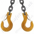 Lifting Chain Sling Assemblies, Grade 8 / 80 - Chain Diameters 7mm to 32mm. WLL 1500kg to 67,000kg