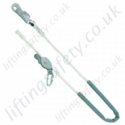 "Miller ""Reglex 3000"" Adjustable Pole Strap for Work Positioning c/w Sliding Jaw Adjuster and Snaphook. ""Adjustable Restraint Lanyard"" - 2, 3 or 4 m"