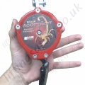"Miller ""Standard Scorpion Inertia"" Reel Personal Fall Limiter (PFL) with Polyester Webbing Lanyard (Many Karabiner Options) - 2.7 Metre"