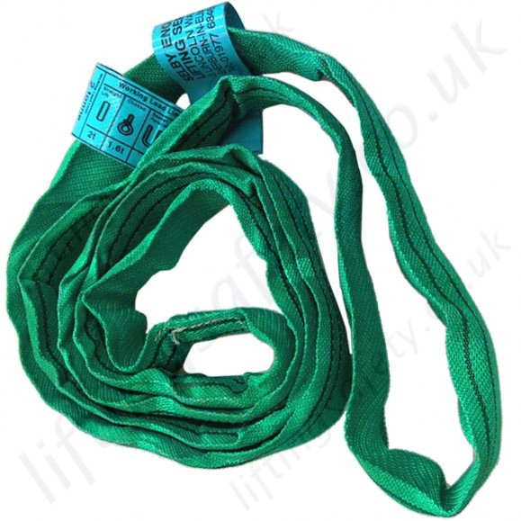 Round Polyester Lifting Slings (endless lifting slings). Conforms to ...