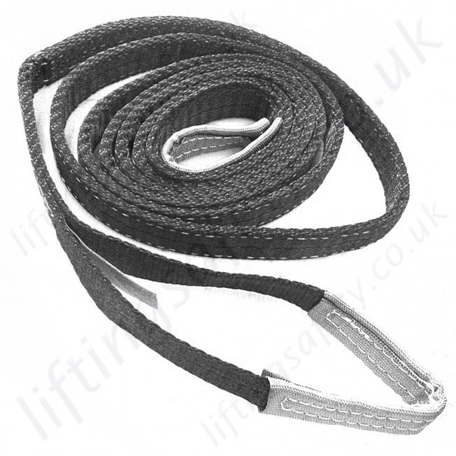 Polyester Flat Web Lifting Slings (Belt slings with reinforced eyes